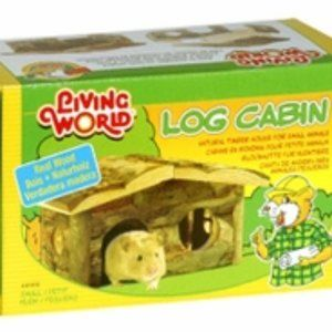 Log Cabin by Living World Small